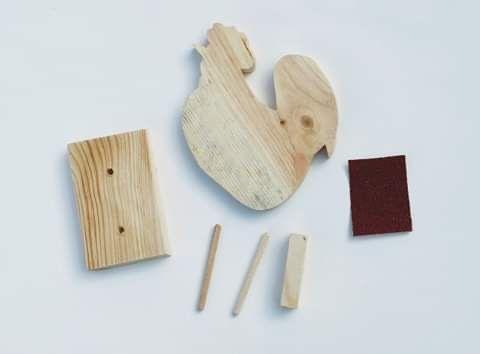 Box kreatywny - Model kogut