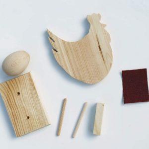 Box kreatywny - Model kurka z jajkiem