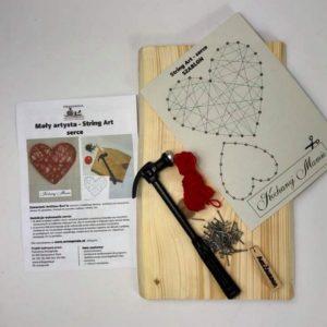 Box kreatywny - Model String Art