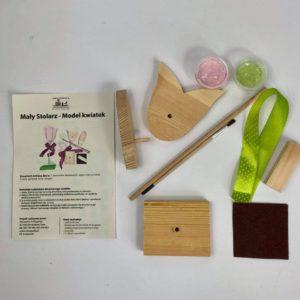 Box kreatywny - Model tulipan