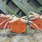 Drewniane dynie