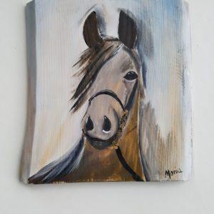 Obraz na desce Koń