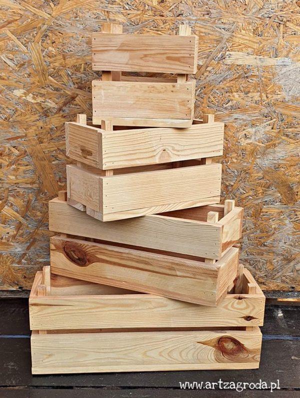 ArtZagroda - Skrzynki drewniane: Skrzynki balkonowe