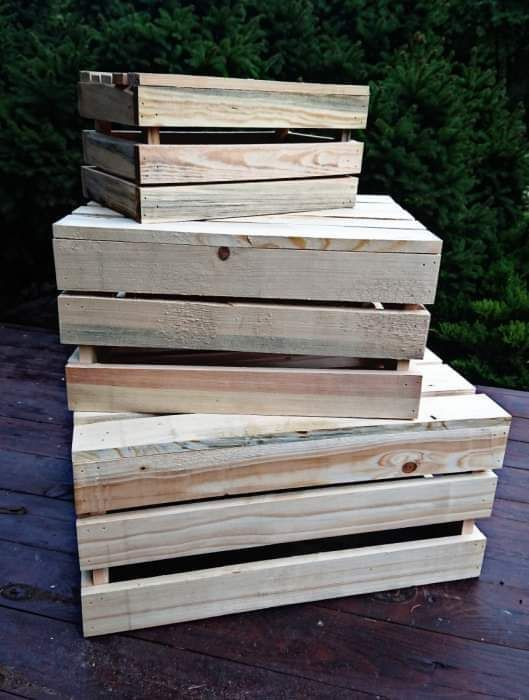 ArtZagroda - Skrzynki drewniane: Skrzynki drewniane